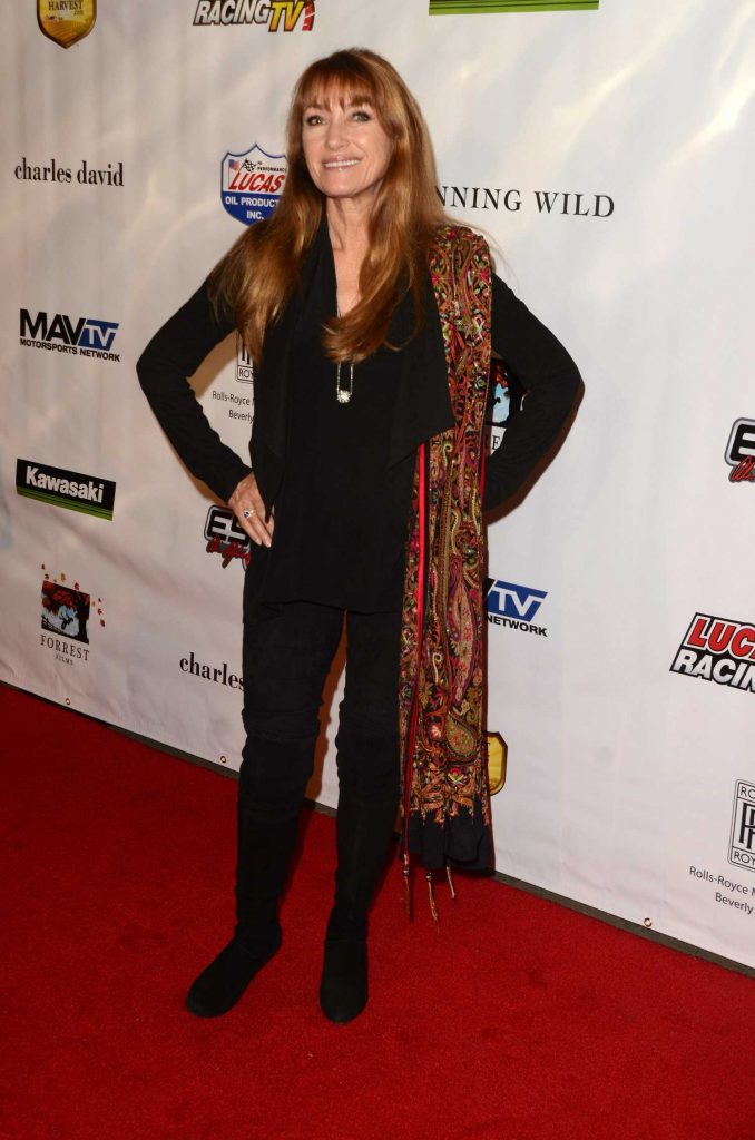 Jane Seymour at the Sony Pictures Running Wild Premiere at TCL Chinese Theatre in Hollywood-2