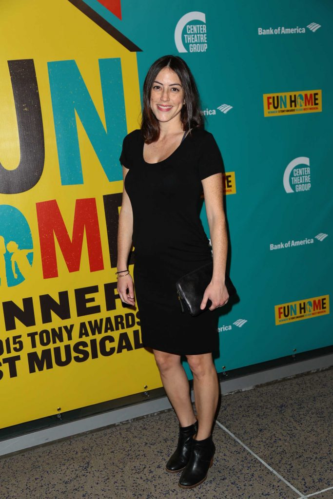 Jeanne Syquia at the Media Tip Fun Home at Ahmanson Theatre in Los Angeles-1