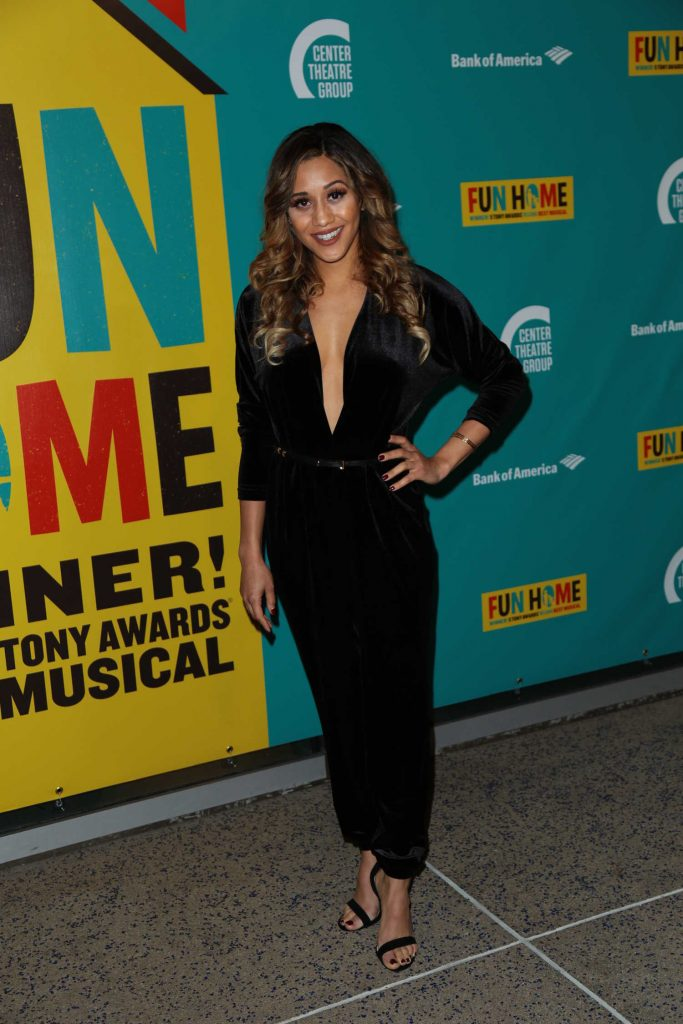 Joanna Jones at the Media Tip Fun Home at Ahmanson Theatre in Los Angeles-1