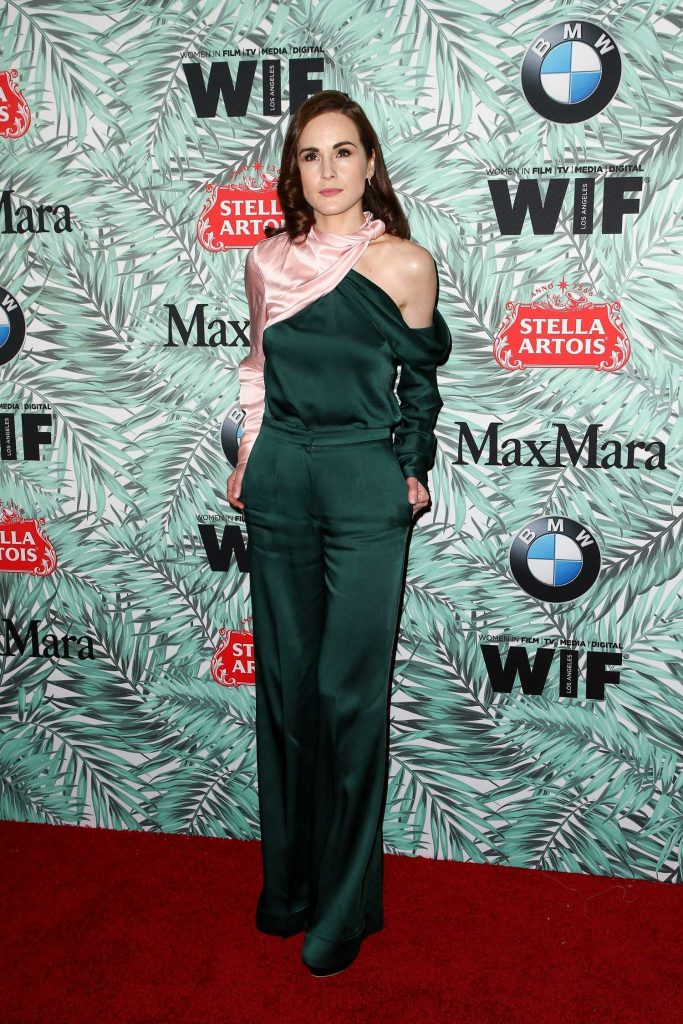 Michelle Dockery at the Woman in Film Cocktail Party in Los Angeles-1