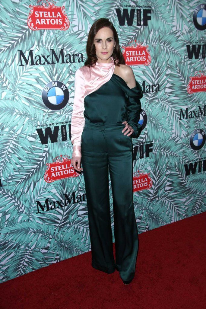 Michelle Dockery at the Woman in Film Cocktail Party in Los Angeles-2