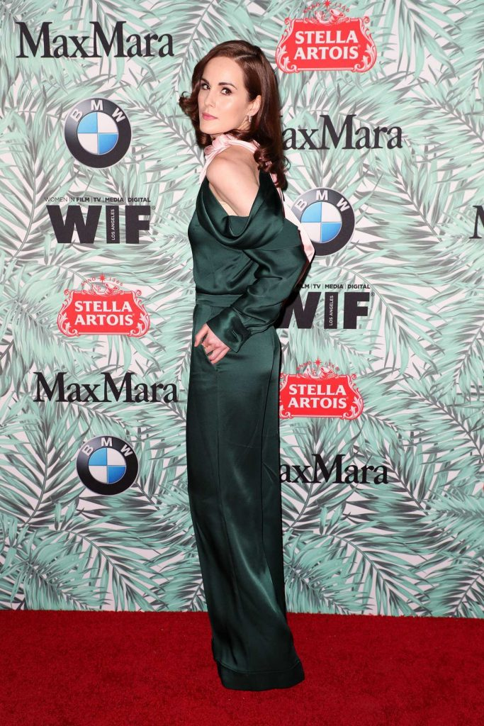 Michelle Dockery at the Woman in Film Cocktail Party in Los Angeles-3