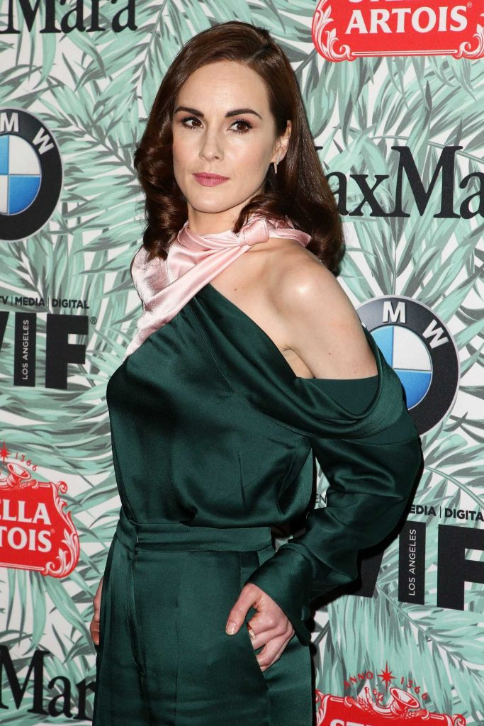 Michelle Dockery at the Woman in Film Cocktail Party in Los Angeles-4