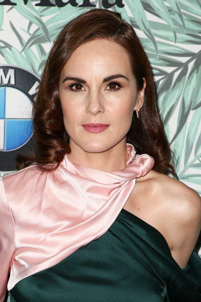 Michelle Dockery at the Woman in Film Cocktail Party in Los Angeles-5