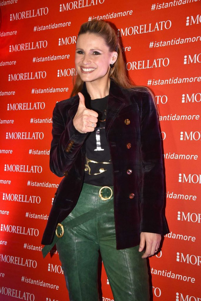 Michelle Hunziker at the Rome Via del Corso Event in Rome-1