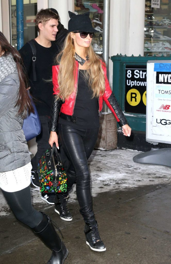 Paris Hilton Was Seen Out in New York City-1