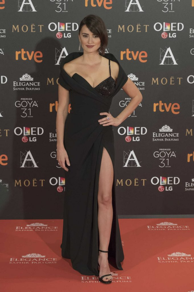 Penelope Cruz at the Goya Cinema Awards Madrid-1