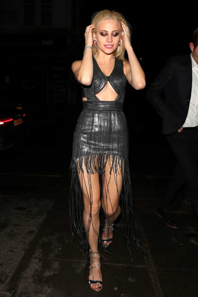 Pixie Lott Arrives at Universal Music Brit Awards After Party in London-3