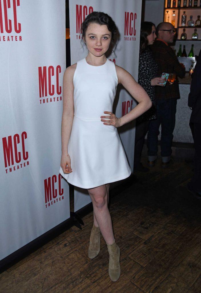 Stefania LaVie Owen at Yen Opening Night at Lortel Theatre in New York-1