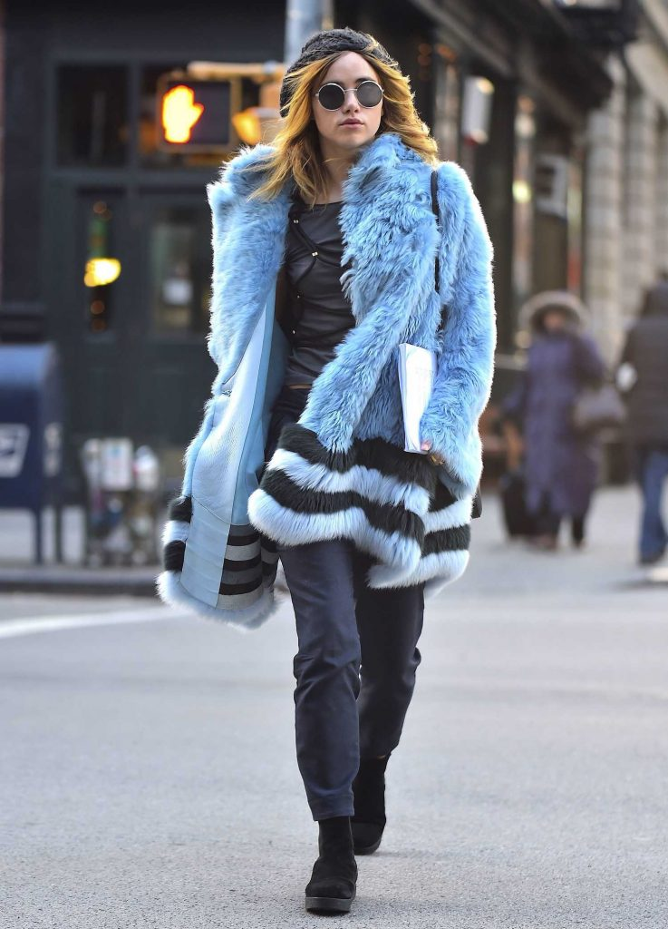 Suki Waterhouse Was Seen Out in Soho, New York-1