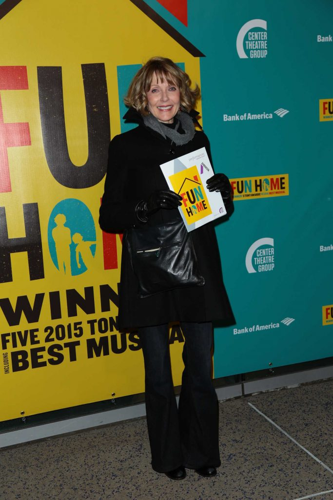 Susan Blakely at the Media Tip Fun Home at Ahmanson Theatre in Los Angeles-1