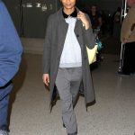 Thandie Newton Arrives in Los Angeles
