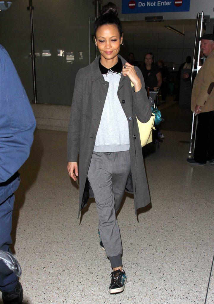 Thandie Newton Arrives in Los Angeles-1