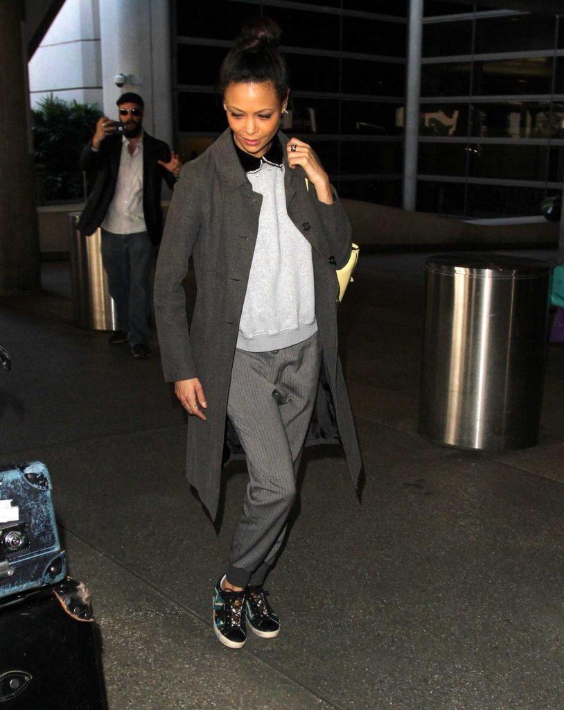 Thandie Newton Arrives in Los Angeles-2