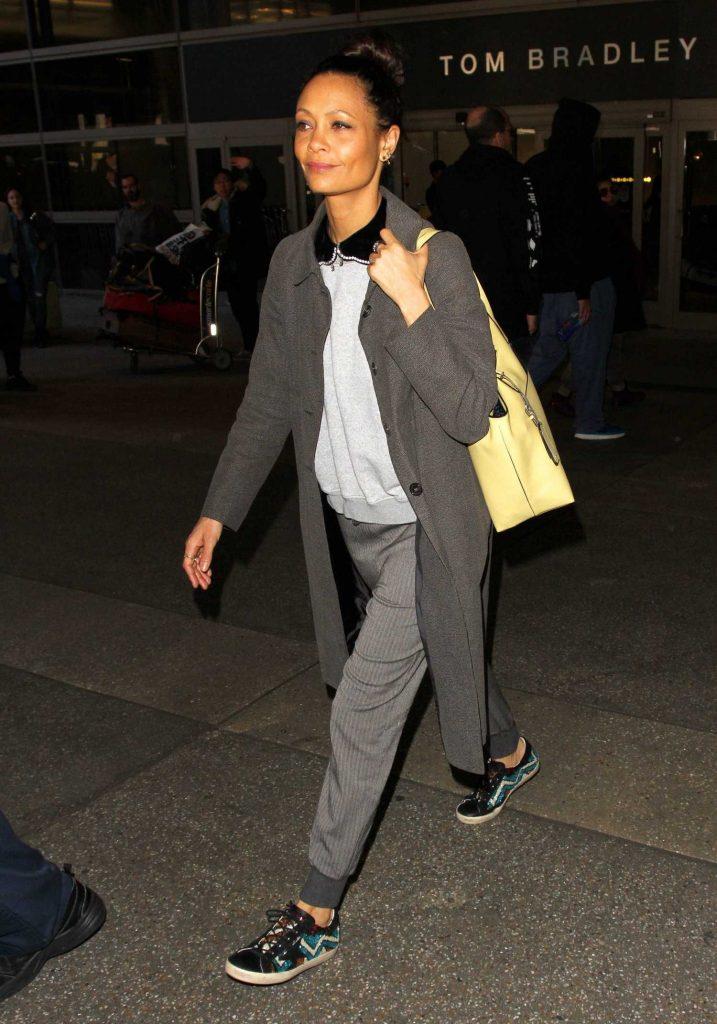 Thandie Newton Arrives in Los Angeles-3