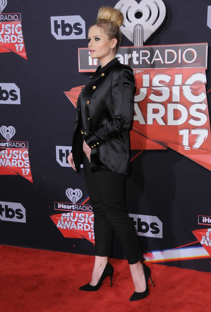 Alli Simpson at the 2017 iHeartRadio Music Awards in Los Angeles-2