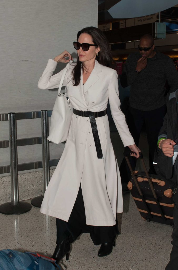 Angelina Jolie Arrives at LAX Airport in LA-3