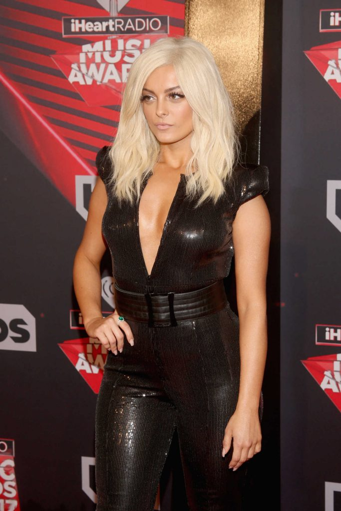 Bebe Rexha at the 2017 iHeartRadio Music Awards in Los Angeles-4