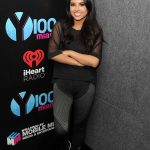 Becky G at the Power Rangers Fan Event at IHeartRadio Station Y100 in Fort Lauderdale
