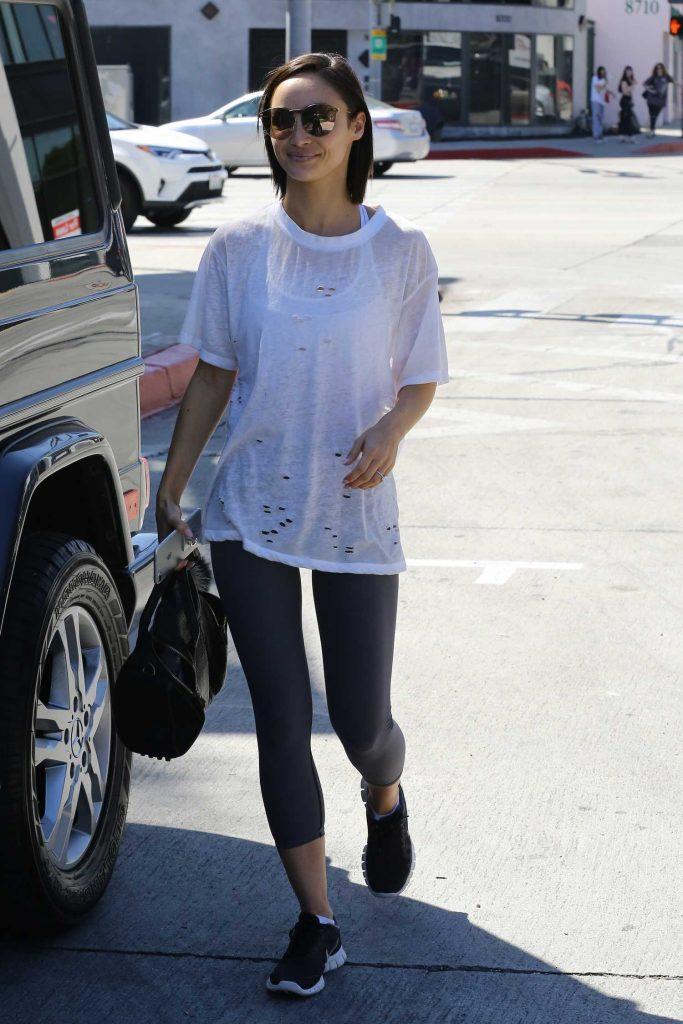 Cara Santana Leaves Zinque Cafe in Los Angeles-2