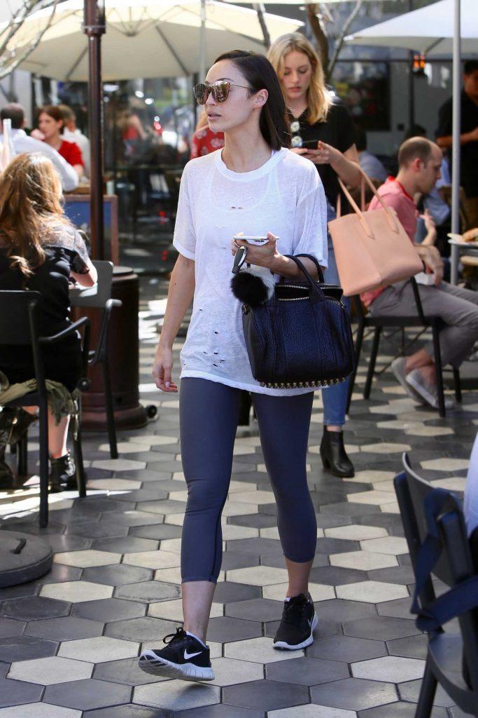 Cara Santana Leaves Zinque Cafe in Los Angeles-3