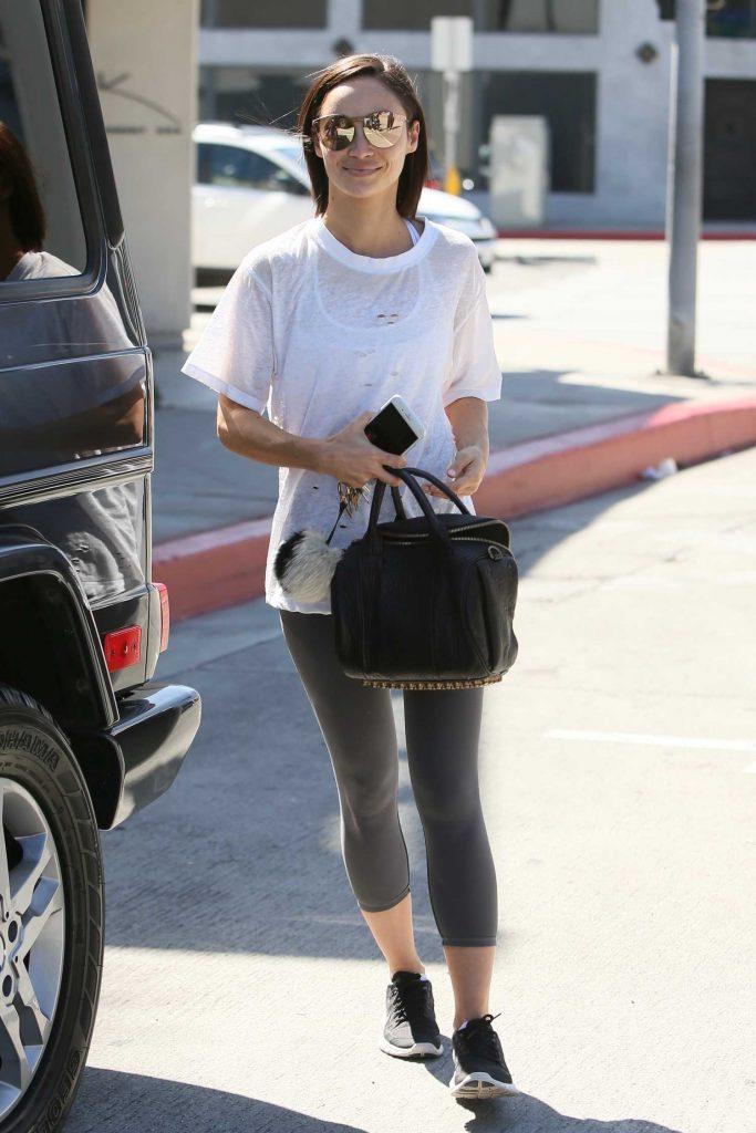 Cara Santana Leaves Zinque Cafe in Los Angeles-4