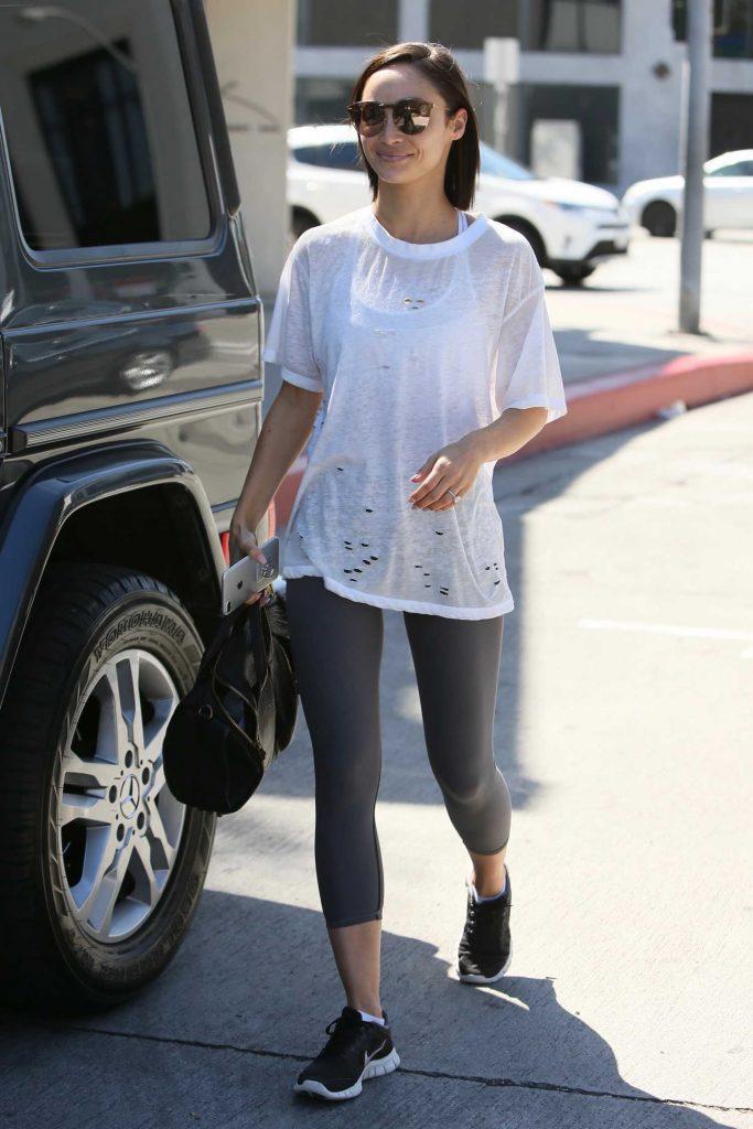Cara Santana Leaves Zinque Cafe in Los Angeles-5