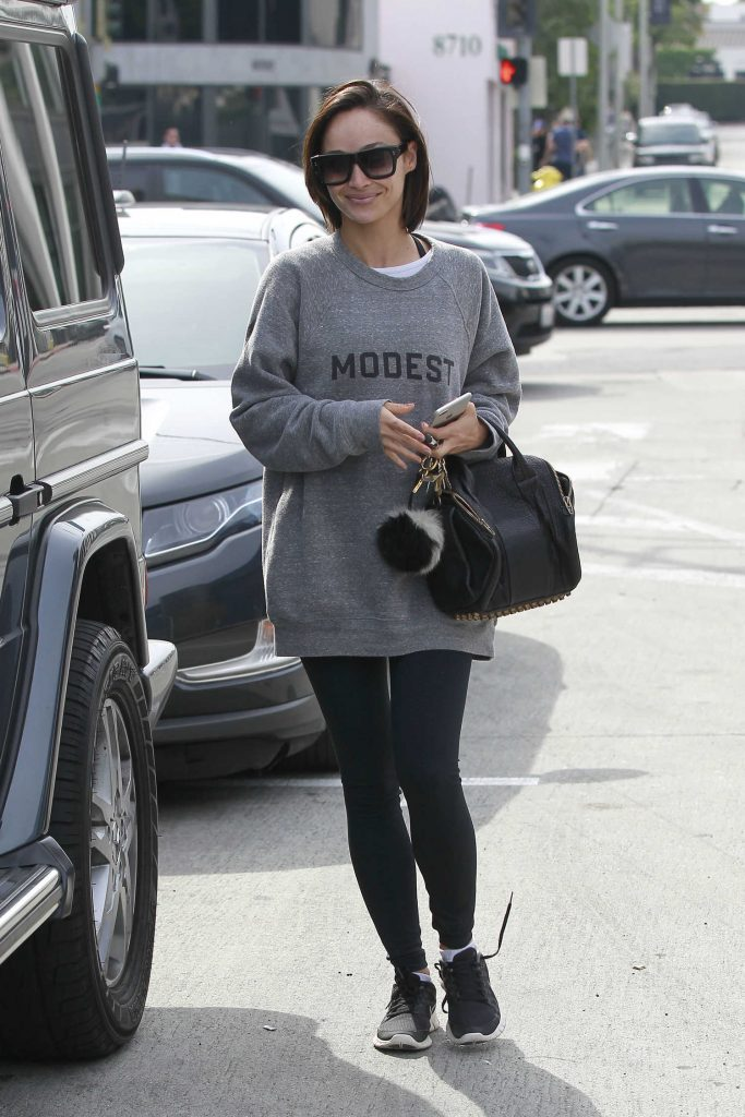 Cara Santana Leaves Zinque in West Hollywood-1