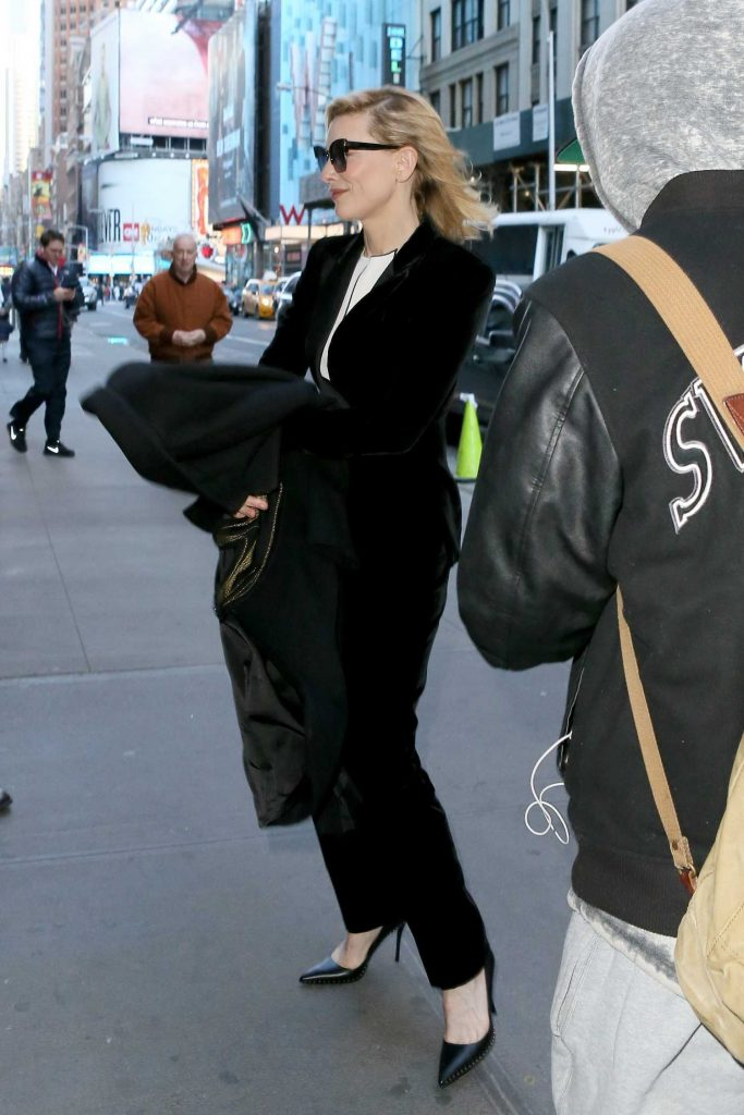 Cate Blanchett Was Seen Out in New York-3