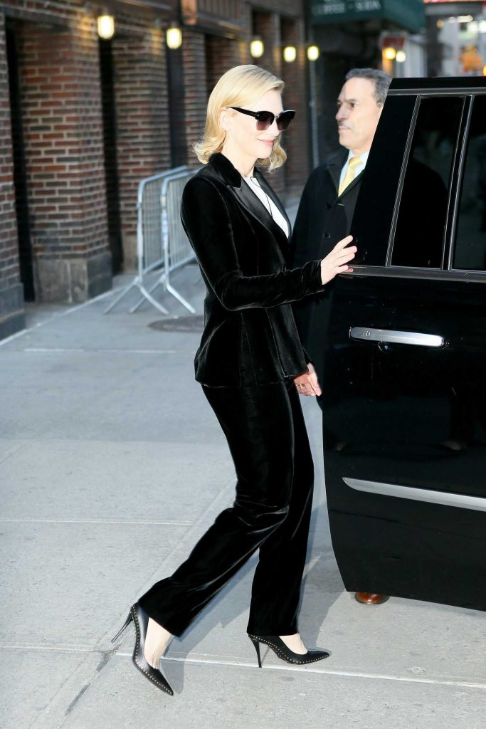 Cate Blanchett Was Seen Out in New York-4