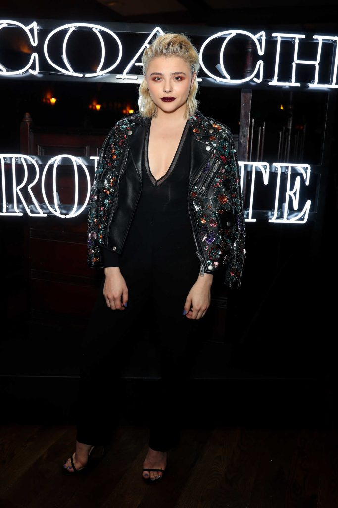 Chloe Moretz at the Coach and Rodarte Dinner in Los Angeles-1