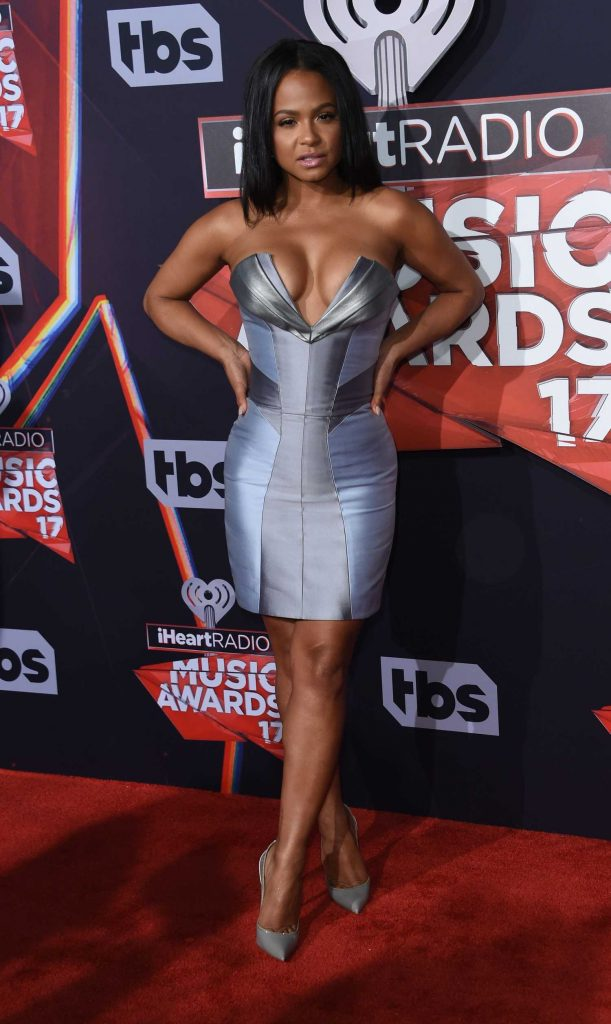 Christina Milian at the 2017 iHeartRadio Music Awards in Los Angeles-1