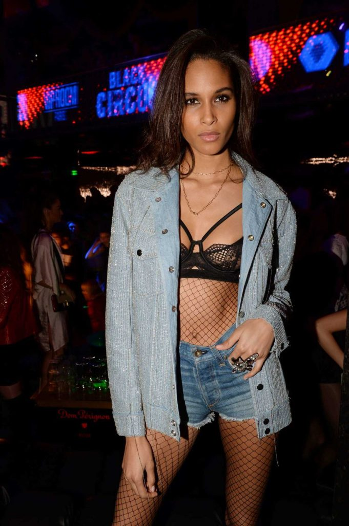 Cindy Bruna at the La Parisienne Party in Paris-3