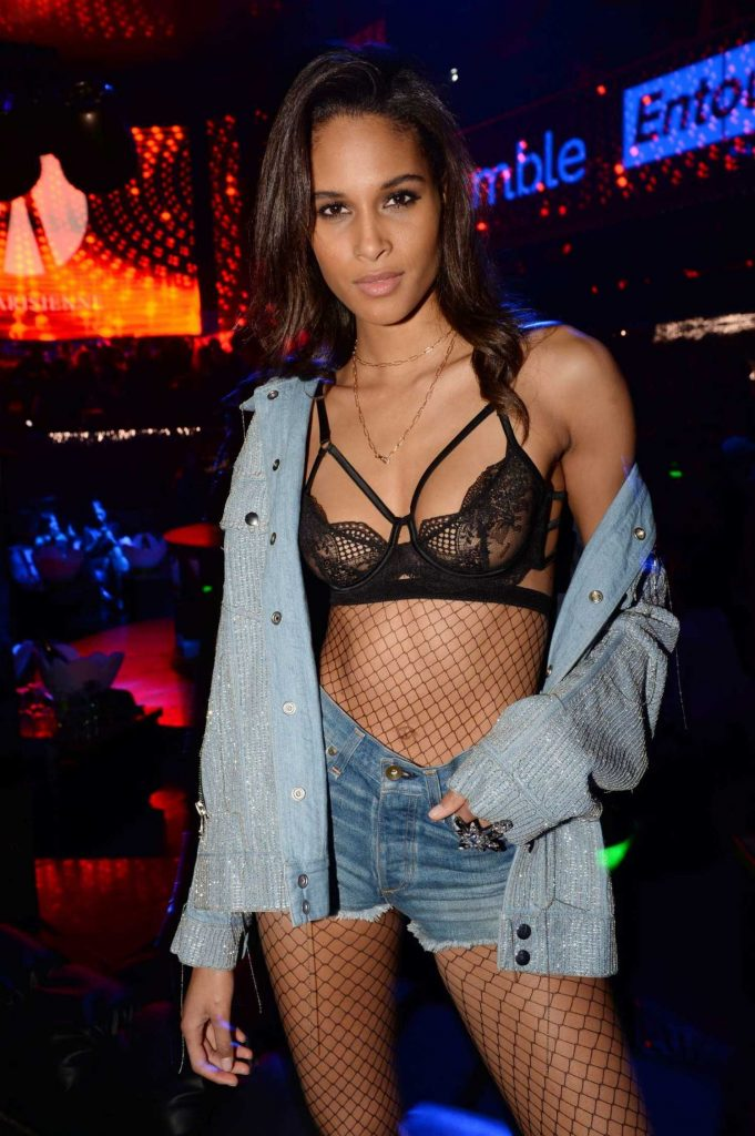 Cindy Bruna at the La Parisienne Party in Paris-4