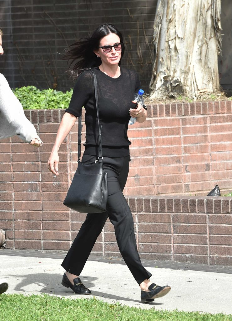 Courteney Cox Was Seen Out in Beverly Hills-5