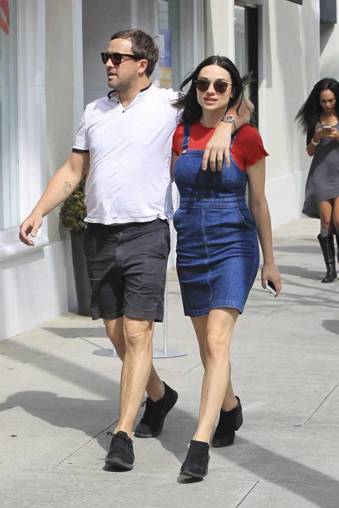 Crystal Reed Was Spotted With Her Boyfriend Darren McMullen Out in Beverly Hills-1