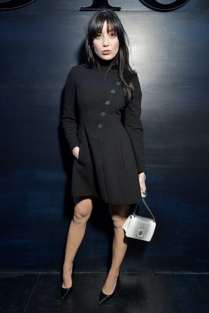 Daisy Lowe at the Christian Dior Show During the Paris Fashion Week-1