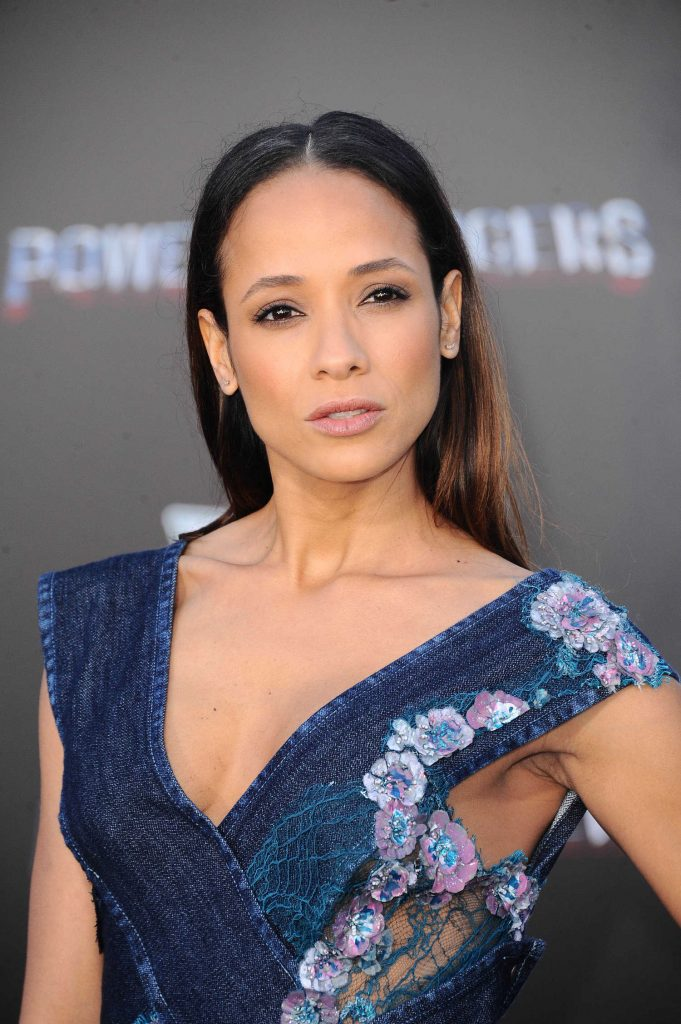 Dania Ramirez at the Power Rangers Los Angeles Premiere-5