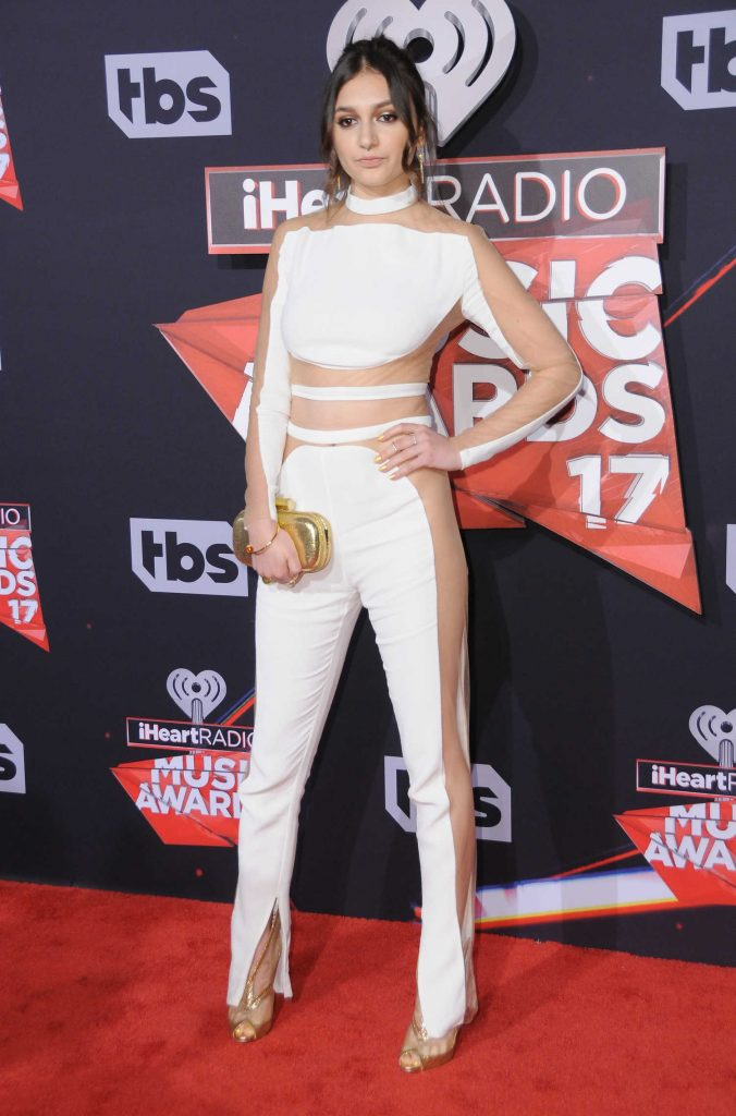 Daya at the 2017 iHeartRadio Music Awards in Los Angeles-1