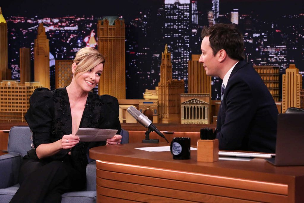 Elizabeth Banks at The Tonight Show Starring Jimmy Fallon-5