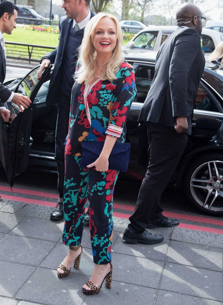 Emma Bunton at the Tric Awards at Grosvenor House in London-1