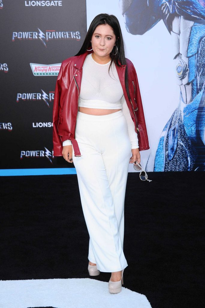 Emma Kenney at the Power Rangers Los Angeles Premiere-1
