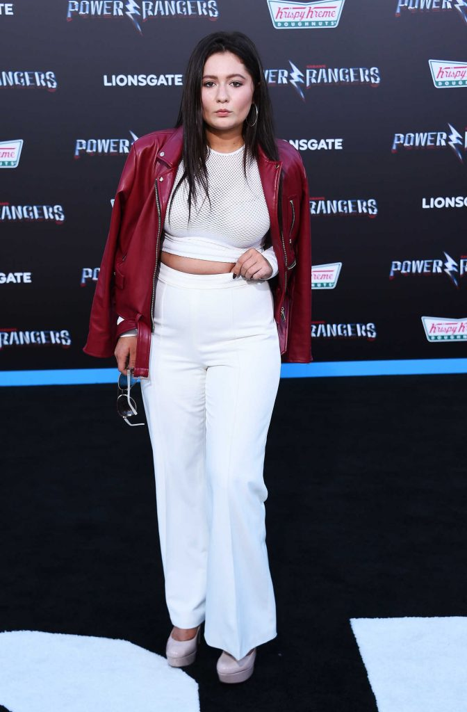 Emma Kenney at the Power Rangers Los Angeles Premiere-3