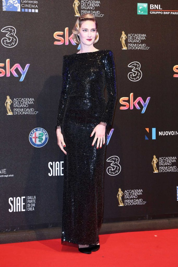 Eva Riccobono at the 2017 David di Donatello Awards in Rome-1