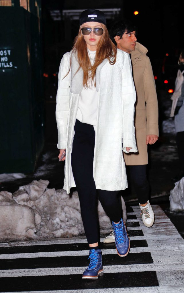 Gigi Hadid Was Spotted Out in New York City-1