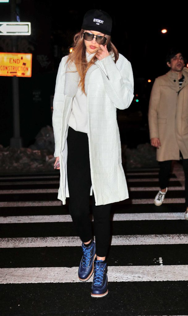 Gigi Hadid Was Spotted Out in New York City-2