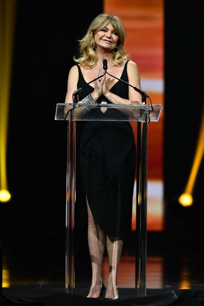 Goldie Hawn at the Big Screen Achievement Awards During the CinemaCon in Las Vegas-2