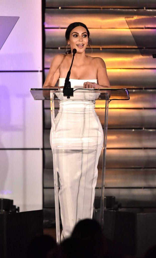 Kim Kardashian at the Family Equality Council's Impact Awards at the Beverly Wilshire Hotel in Beverly Hills-2