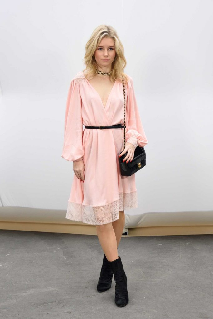 Lottie Moss at the Chanel Show During the Paris Fashion Week-1