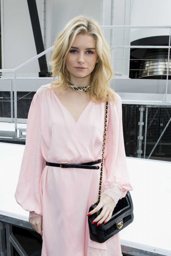 Lottie Moss at the Chanel Show During the Paris Fashion Week-3